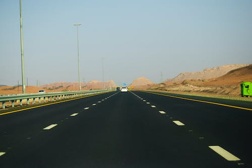 Free stock photo of car, dubai, road