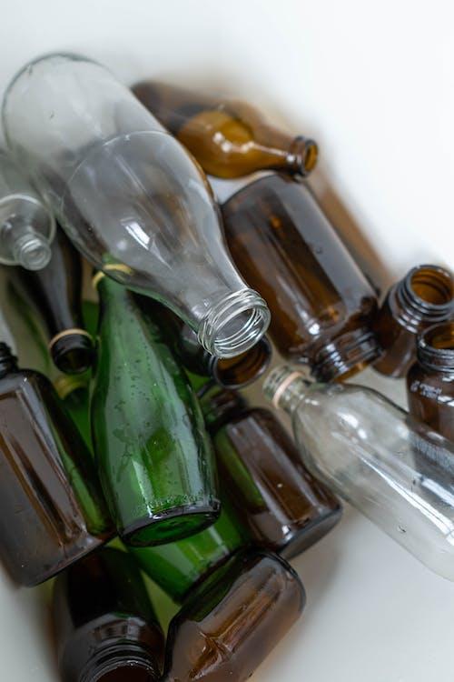 Fotos de stock gratuitas de botellas, botellas de vidrio, cero desperdicio