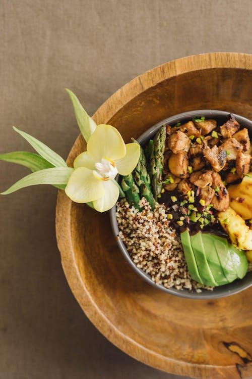 Fotos de stock gratuitas de adentro, almuerzo, bambú