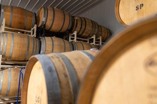 Free stock photo of agbiopix, wine barrells
