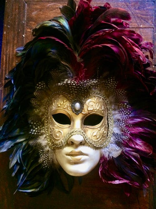 Photos gratuites de masque, masque vénitien