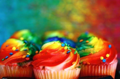 對待, 杯子小蛋糕, 杯子蛋糕 的 免费素材图片