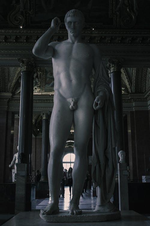 Darmowe zdjęcie z galerii z ciało, galeria sztuki, grecka statua