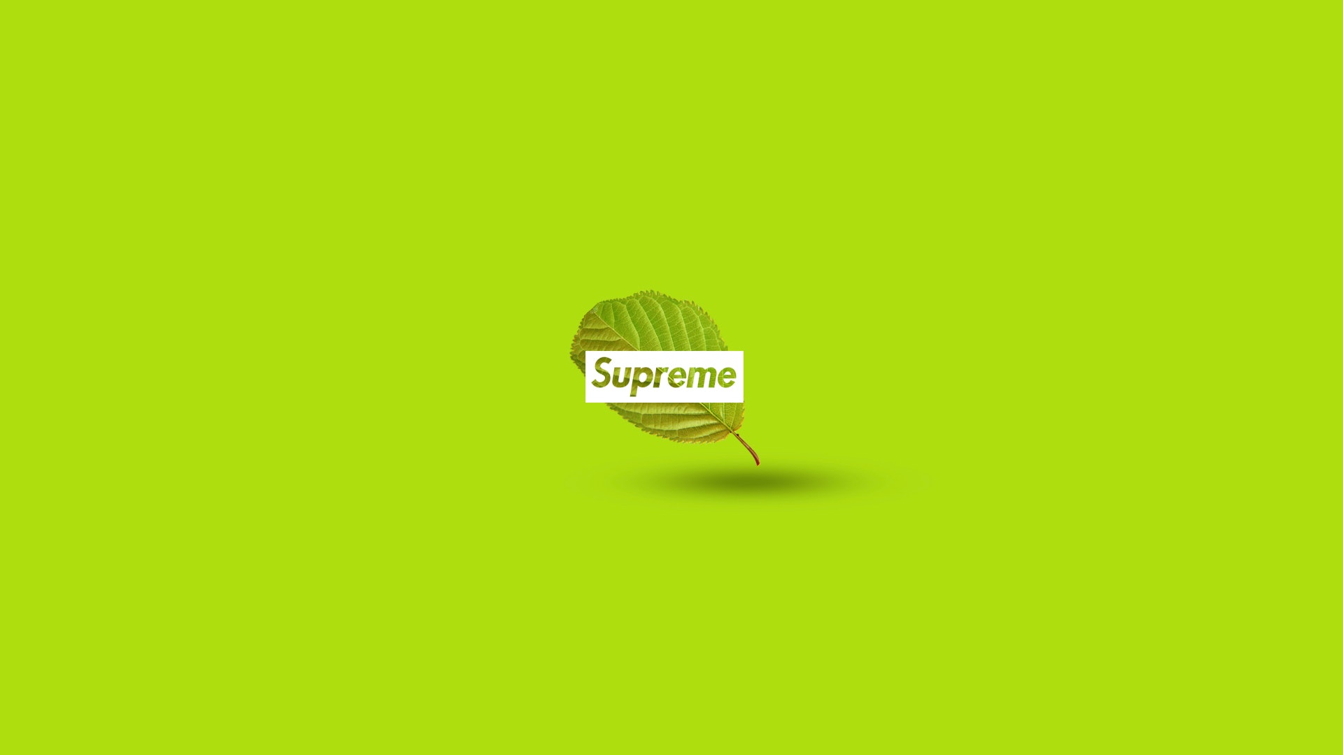 Black And Yellow Supreme Wallpaper