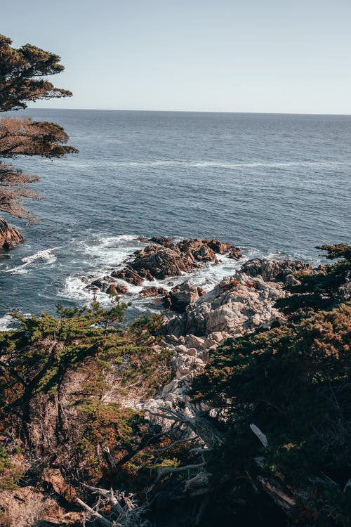 Rocks Formation on the Seacoast