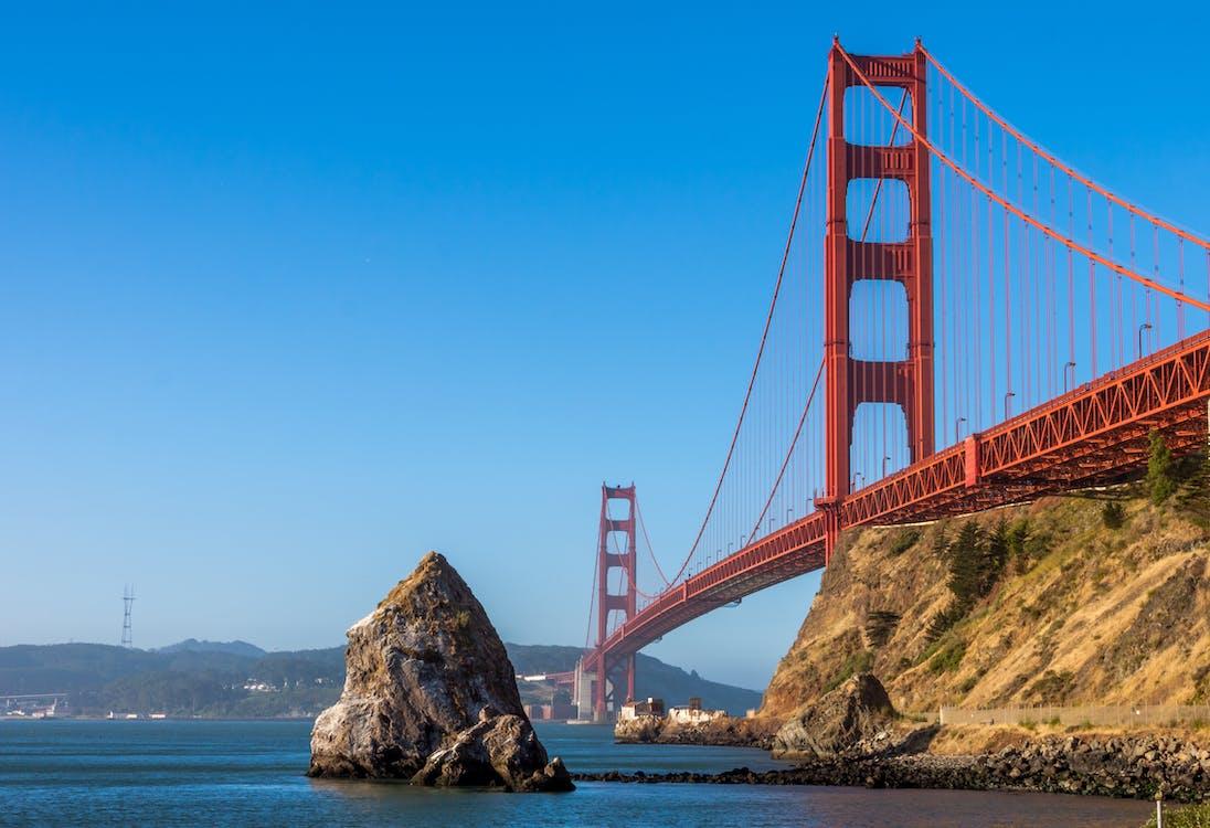 architektura, golden gate bridge, krajobraz