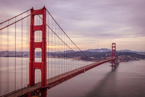 Free stock photo of architecture, bridge, golden gate bridge, san francisco