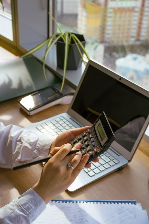 Kostnadsfri bild av arbete, bärbar dator, Beräkna