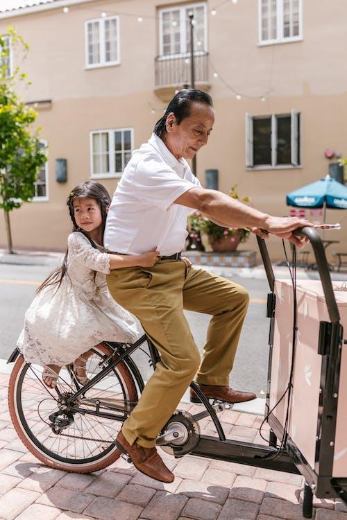 アジア人, おとこ, お年寄りの無料の写真素材