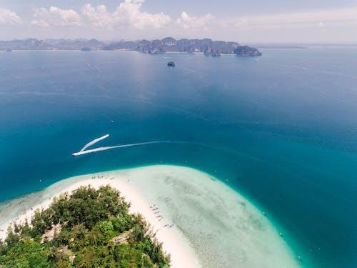 Immagine gratuita di bagnasciuga, da sopra, isola