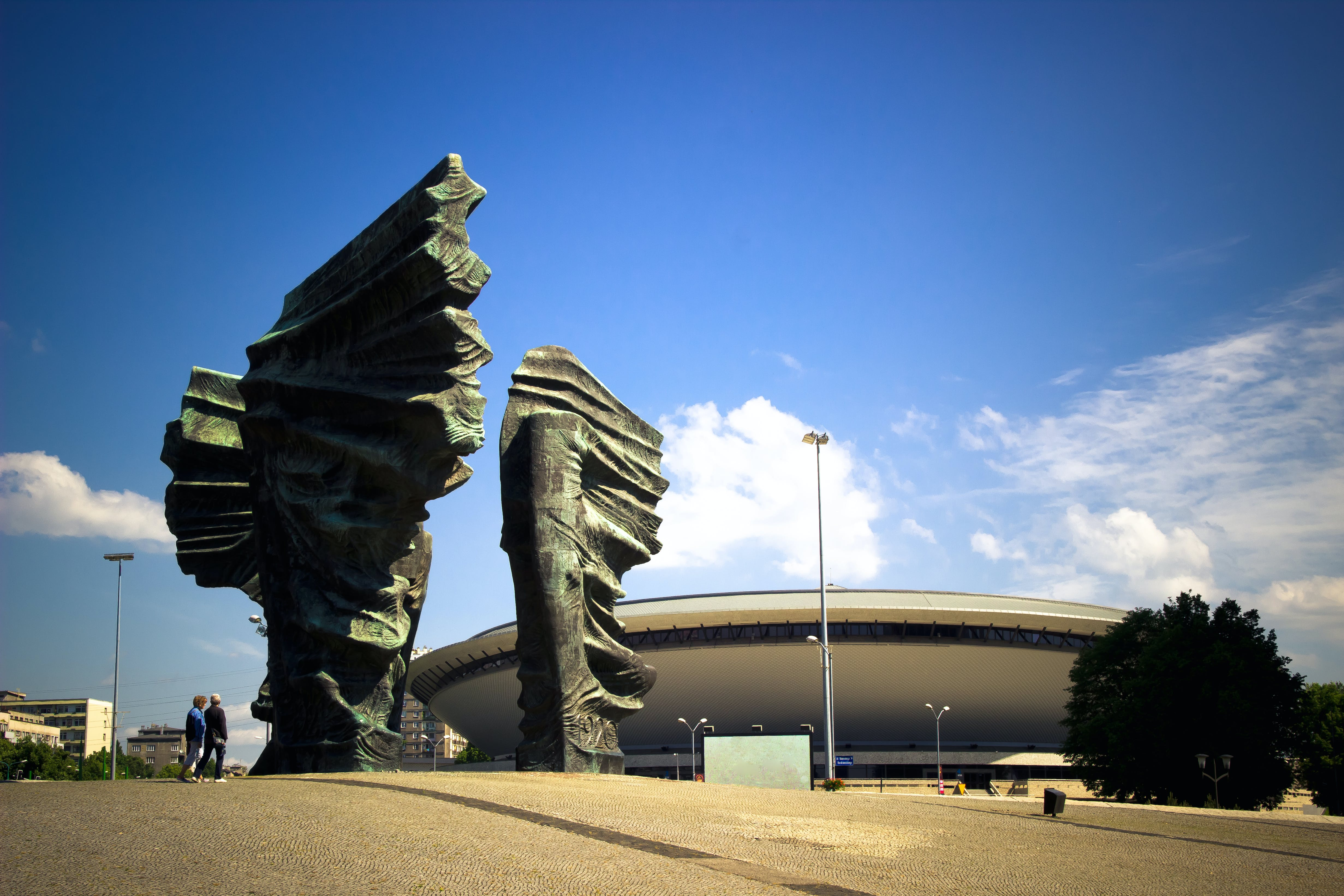 Free stock photo of monument, katowice, silesia, spodek