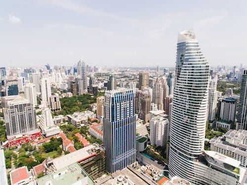 คลังภาพถ่ายฟรี ของ ตัวเมือง, ตึก, ตึกระฟ้า