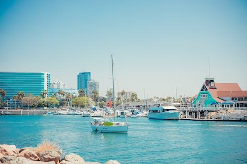 Free stock photo of beach, beach holiday, boat