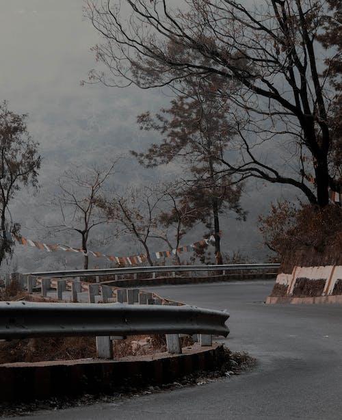 Kostenloses Stock Foto zu berg, indien, staubige straße