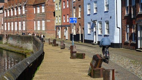 Základová fotografie zdarma na téma cesta, chodník, cyklista