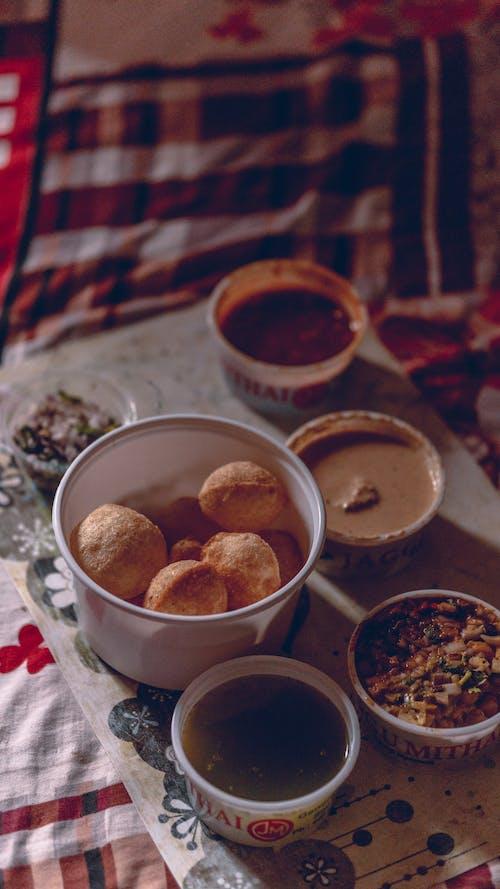 Brown Cookies in White Ceramic Bowl
