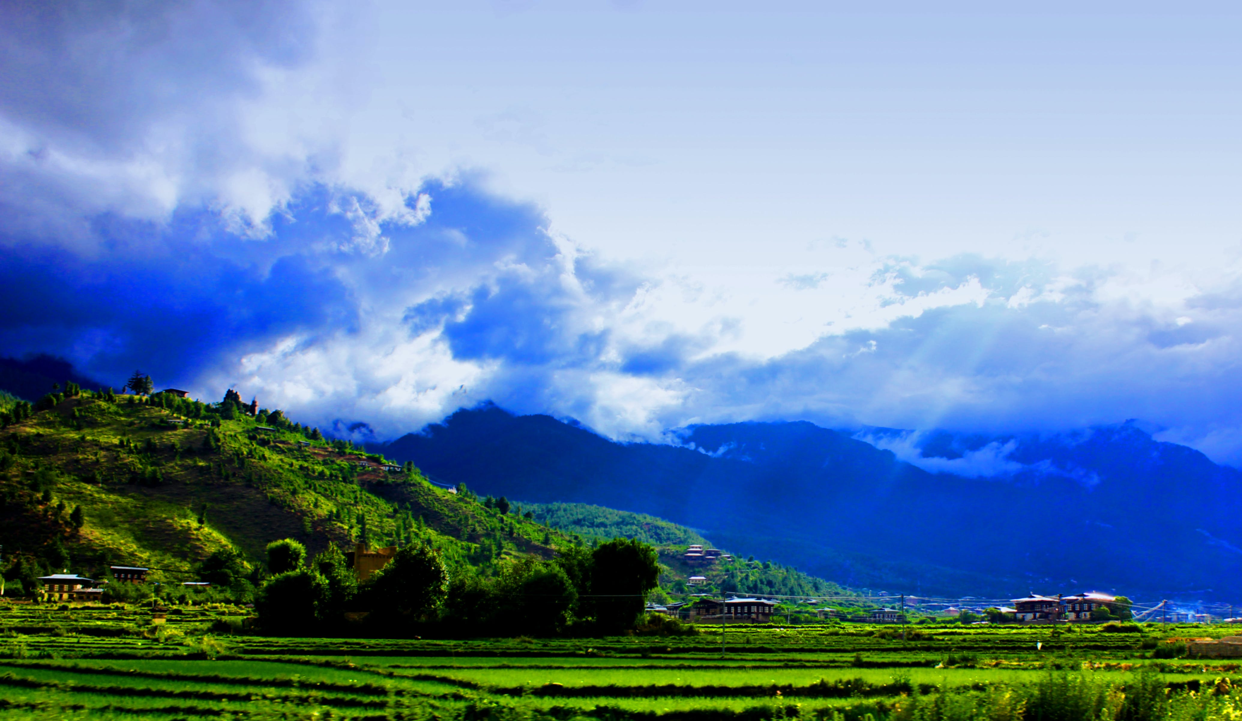 Free stock photo of blue, green, mountains, nature