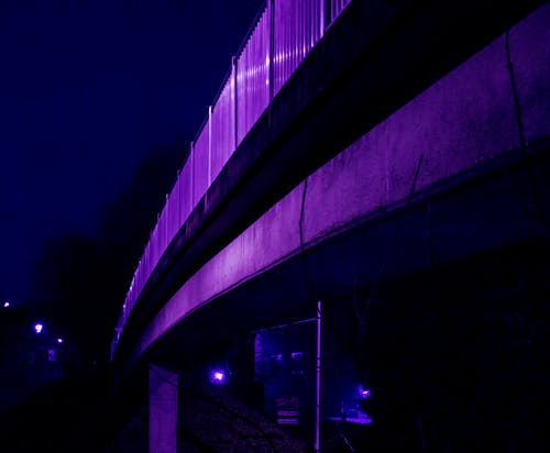 Free stock photo of arch bridge, bridge, city lights, cold
