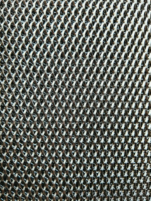 Black and White Textile in Close Up Photography
