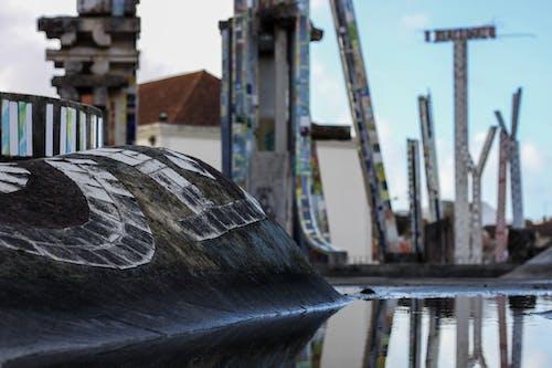 Kostenloses Stock Foto zu caldas da rainha, kunst, portugal, reflektierung