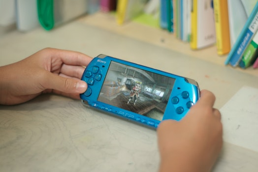 Free stock photo of game, playstation portable