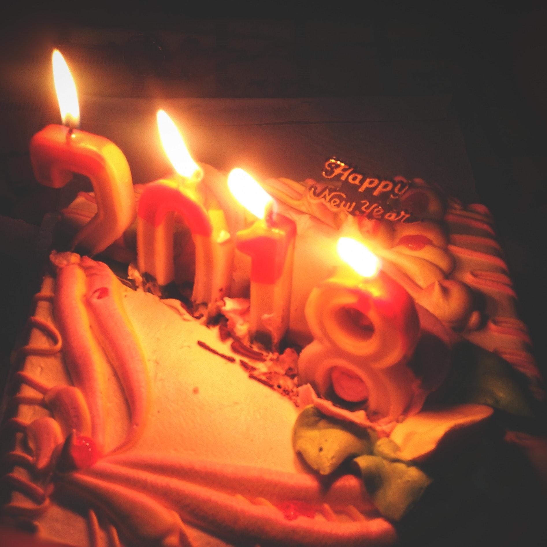 Free Stock Photo Of Birthday Cake Cake Candlelight