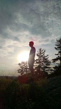 Free stock photo of landscape, sky, person, sun
