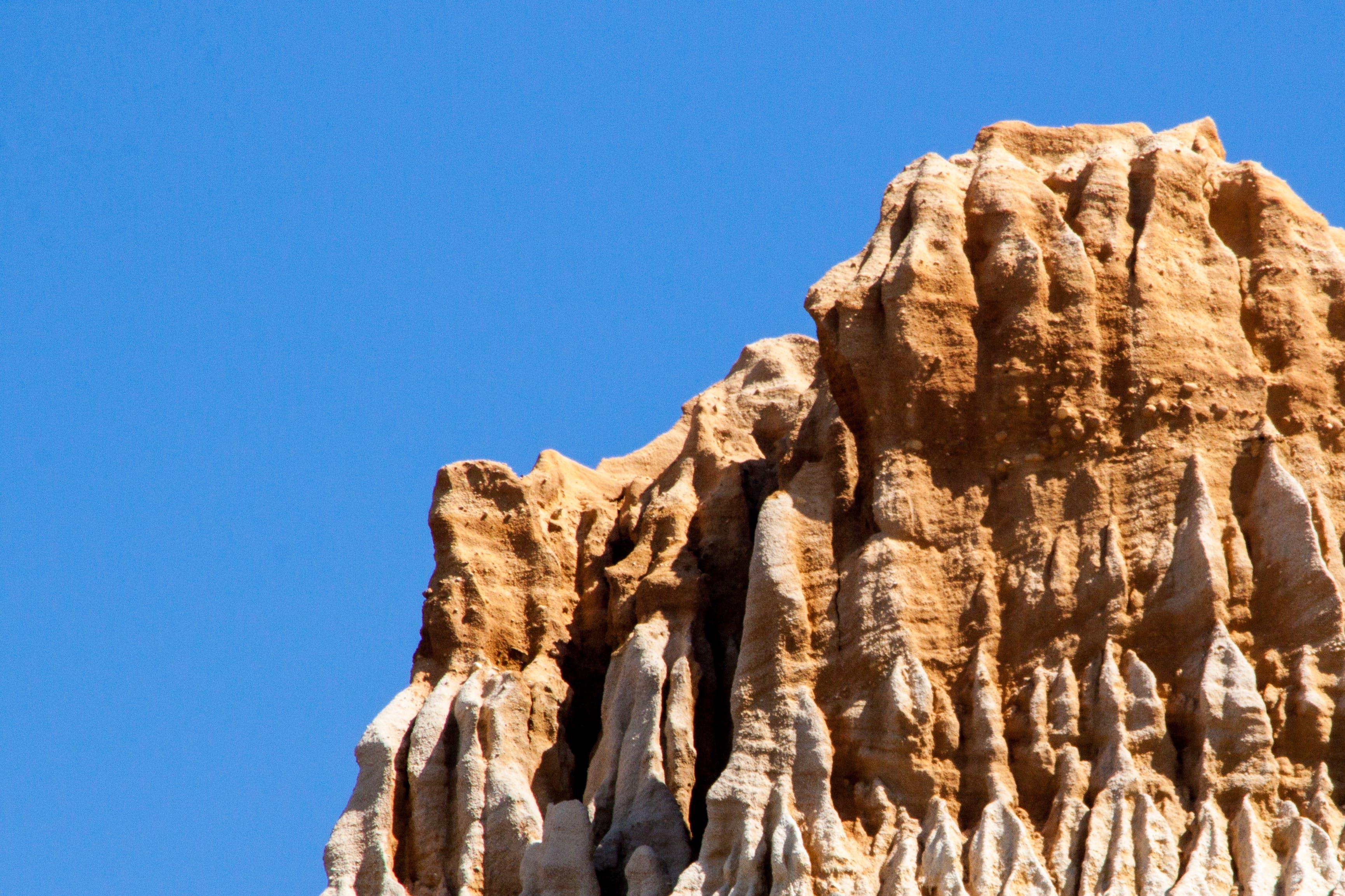Free stock photo of beach, blue, blue sky, cliff