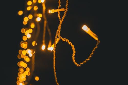 Immagine gratuita di concentrarsi, illuminato, luci, luci di natale