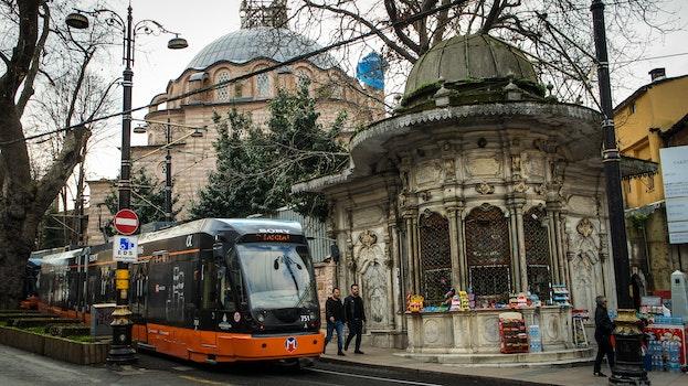 Free stock photo of city, tram, market, history