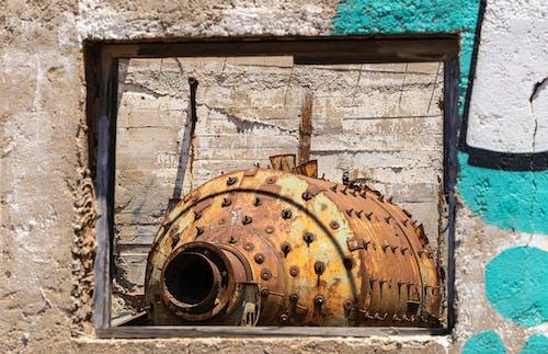 Fotos de stock gratuitas de maquinaria, planta minera, ventana