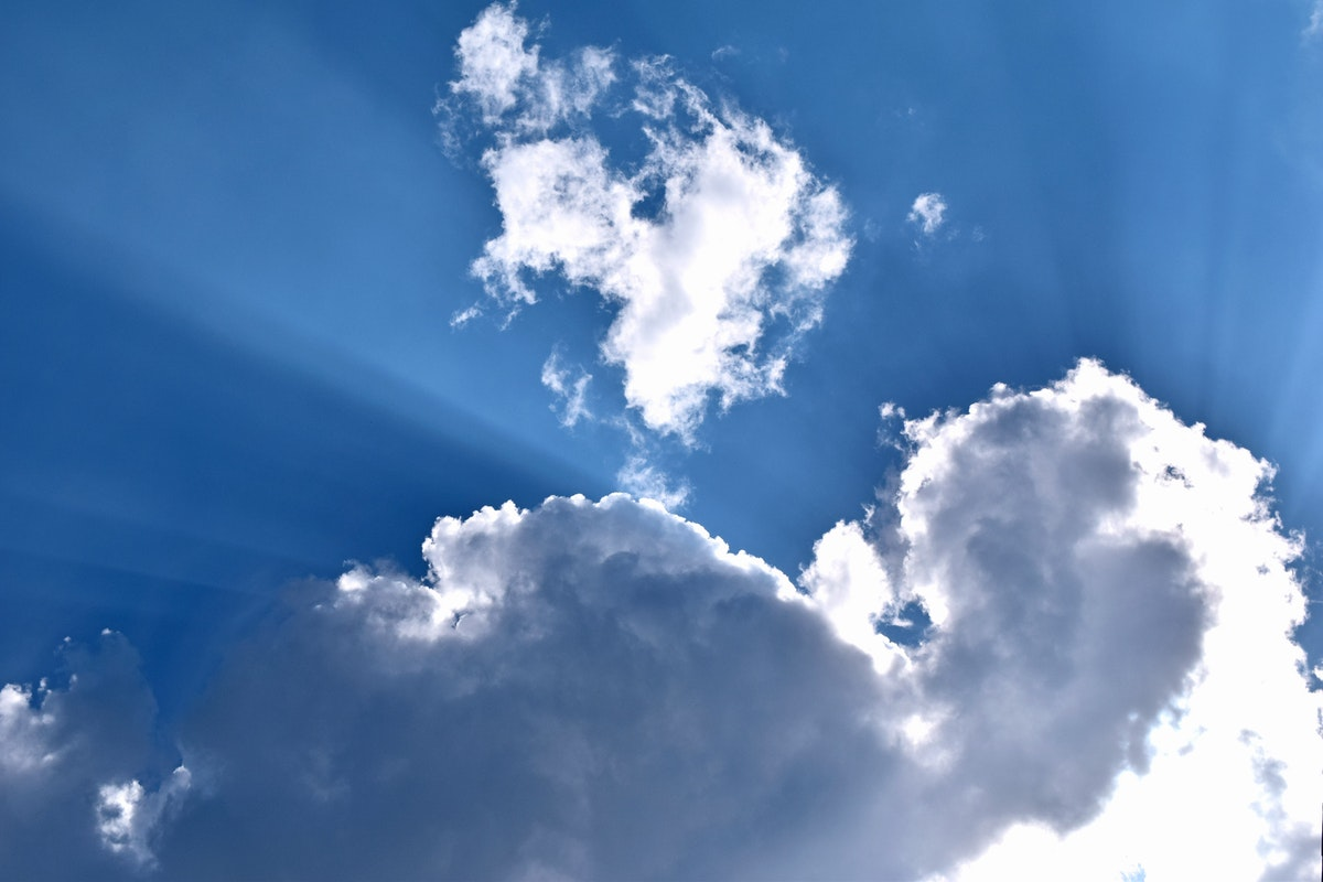 Free Stock Photo Of Blue Sky Clouds Sky
