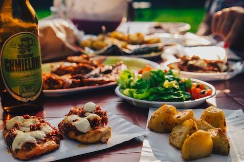 晚餐, 食物, 餐, 馬鈴薯 的 免費圖庫相片