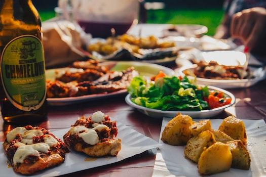 Kostenloses Stock Foto zu essen, abendessen, mahlzeit, kartoffeln