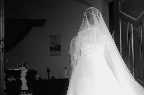 Kostenloses Stock Foto zu braut, bräutigam, ehe