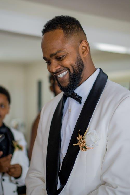 あごひげ, アフリカ系アメリカ人, おとこの無料の写真素材