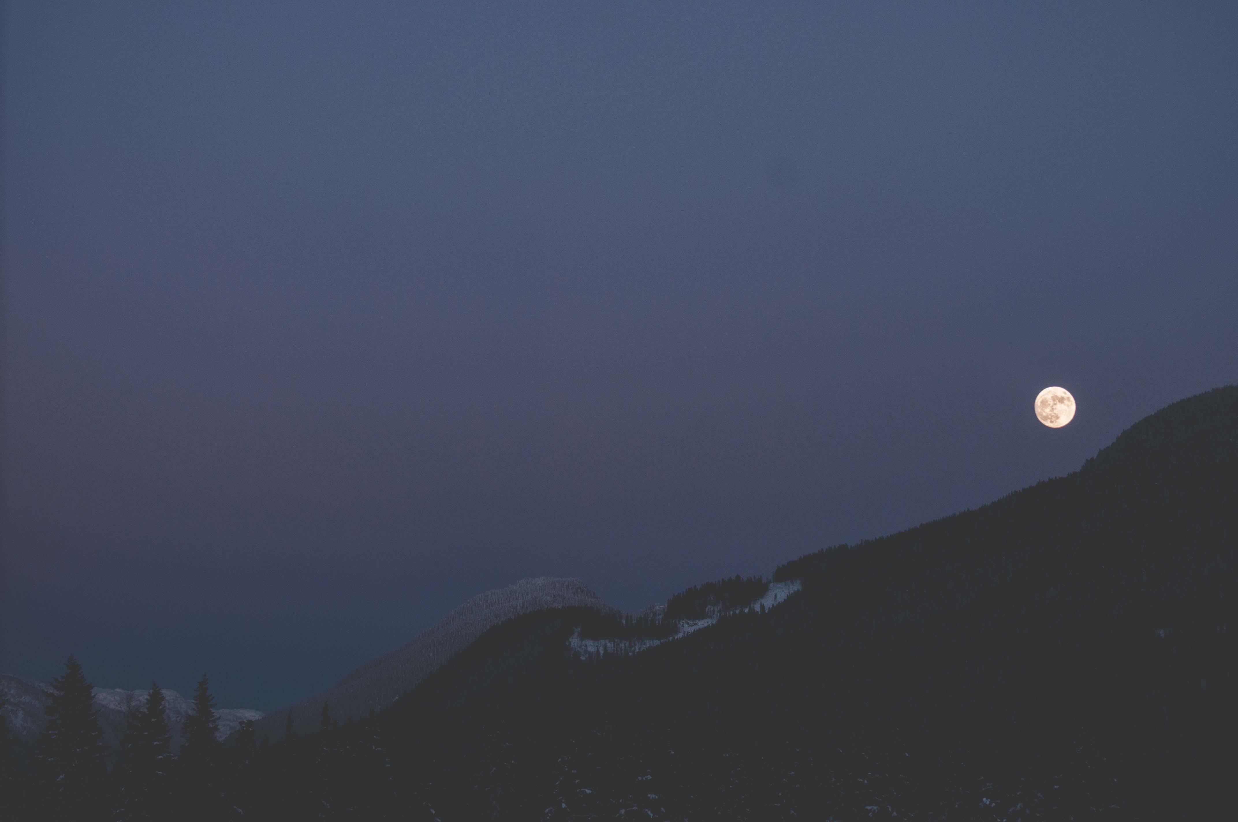 Free stock photo of full moon, lunar, moon, moonlight