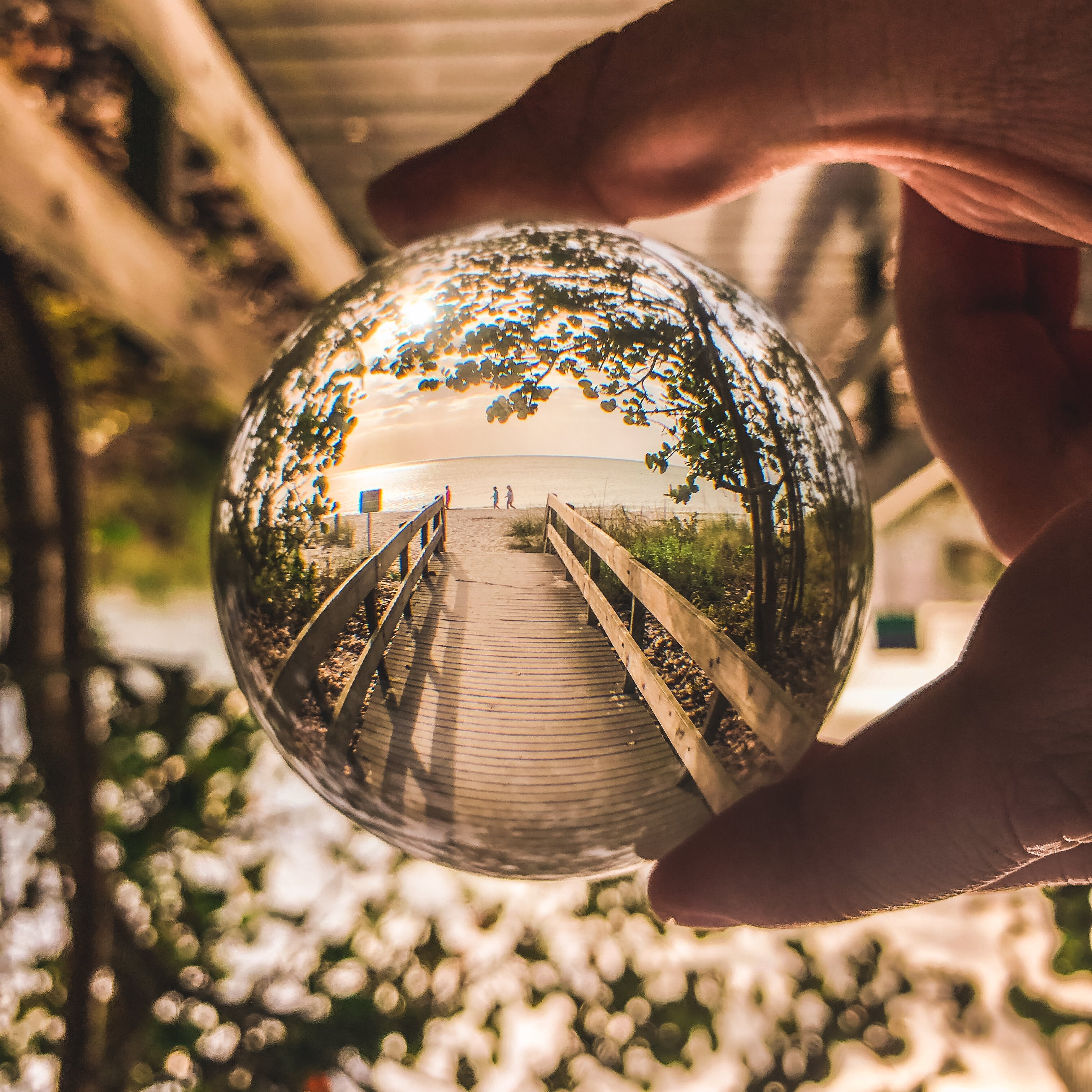 Shallow Focus Photo Of Glass Ball