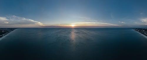 全景, 反射, 地平線, 夏天 的 免费素材照片
