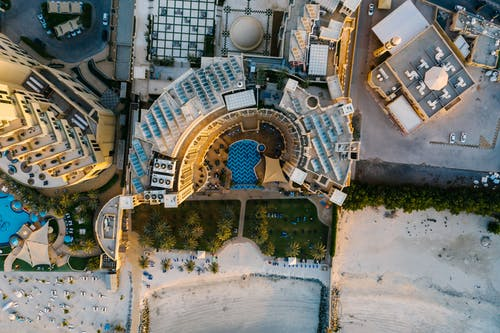 Free stock photo of aerial, amazing, architecture