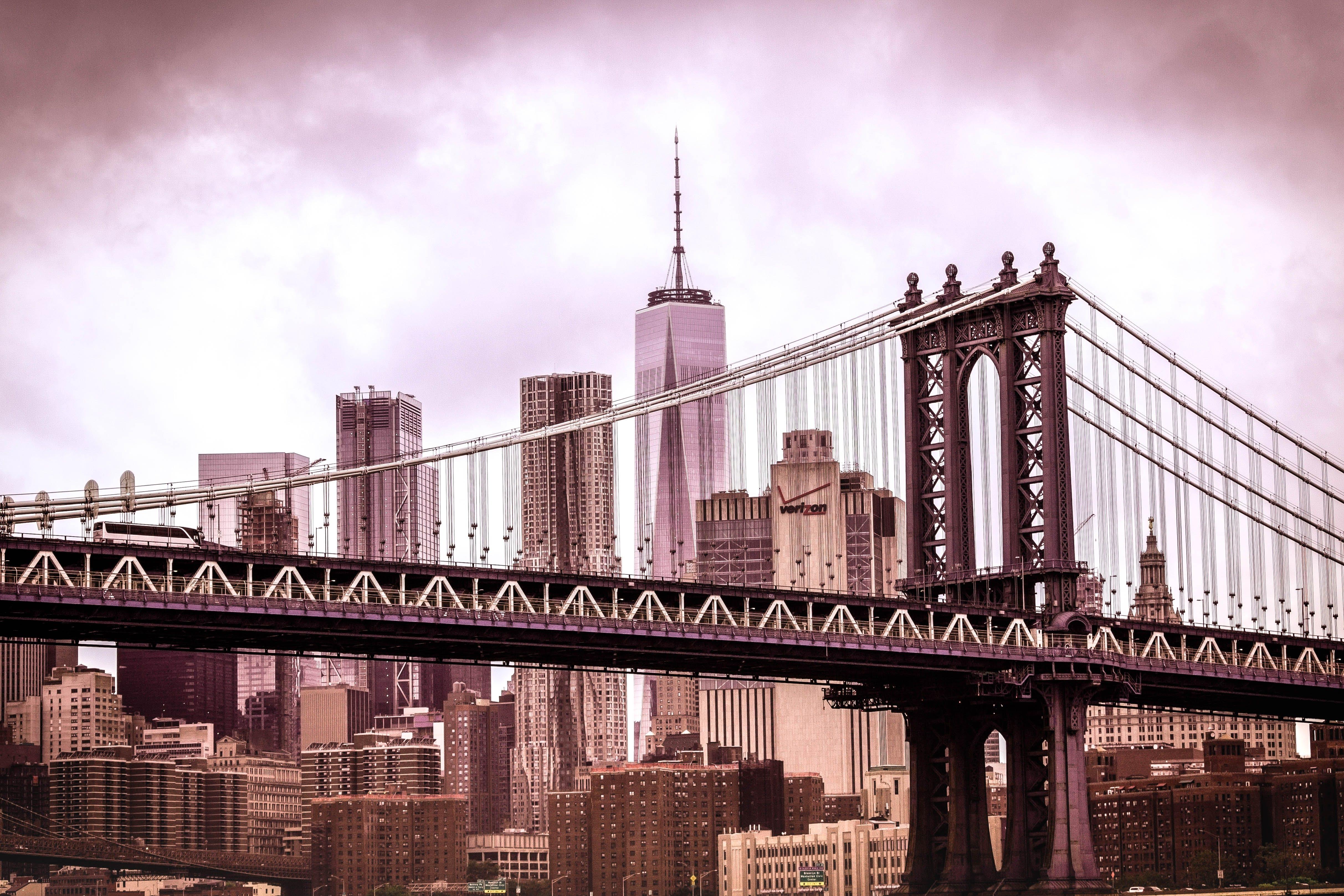 Photography of Black Steel Bridge