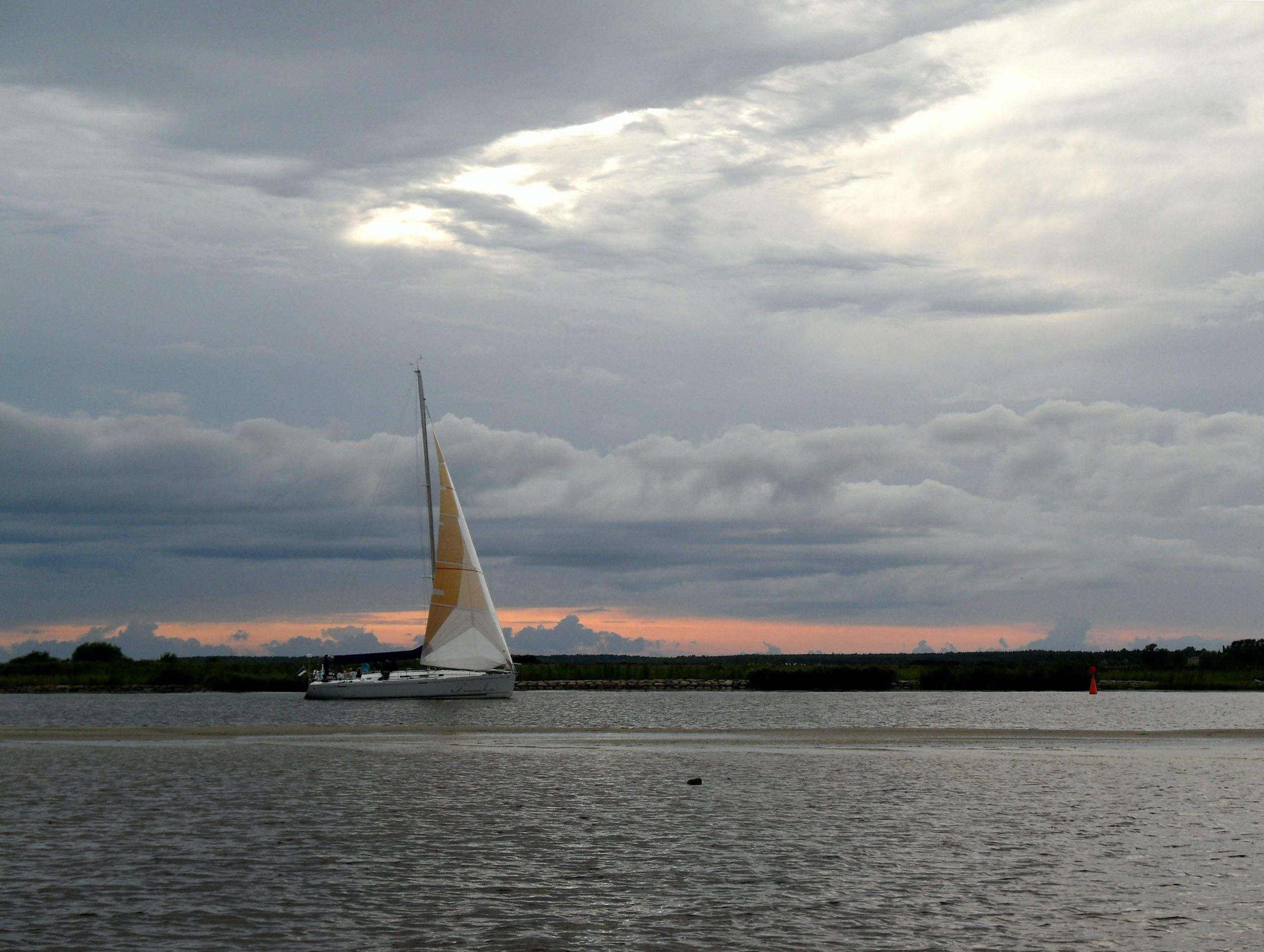 Free stock photo of estonia, Pärnu, sailboat, sea