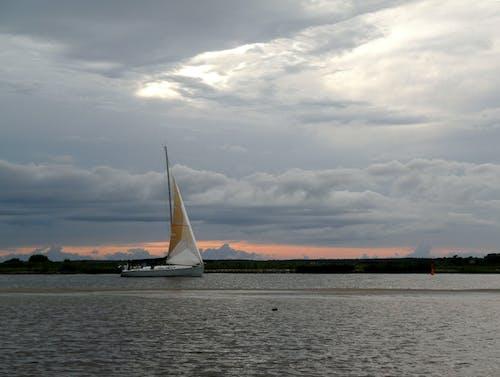 Darmowe zdjęcie z galerii z estonia, morze, p¤rnu, zachód słońca