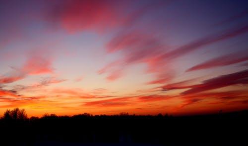 Darmowe zdjęcie z galerii z estonia, kolorowy zachód słońca, zachód słońca