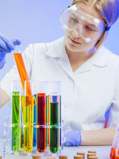 Бесплатное стоковое фото с анализ, безопасные очки, Биология