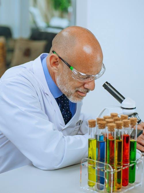 Foto stok gratis ahli kimia, analisis, apoteker