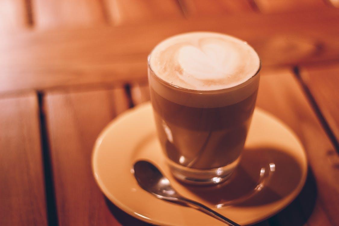 arte, bebida de café, borrão
