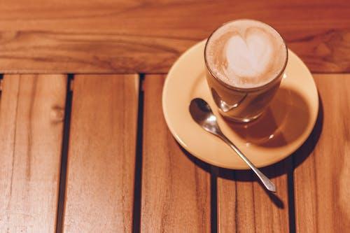 Foto d'estoc gratuïta de art latte, beguda, cafè, l'hora del cafè