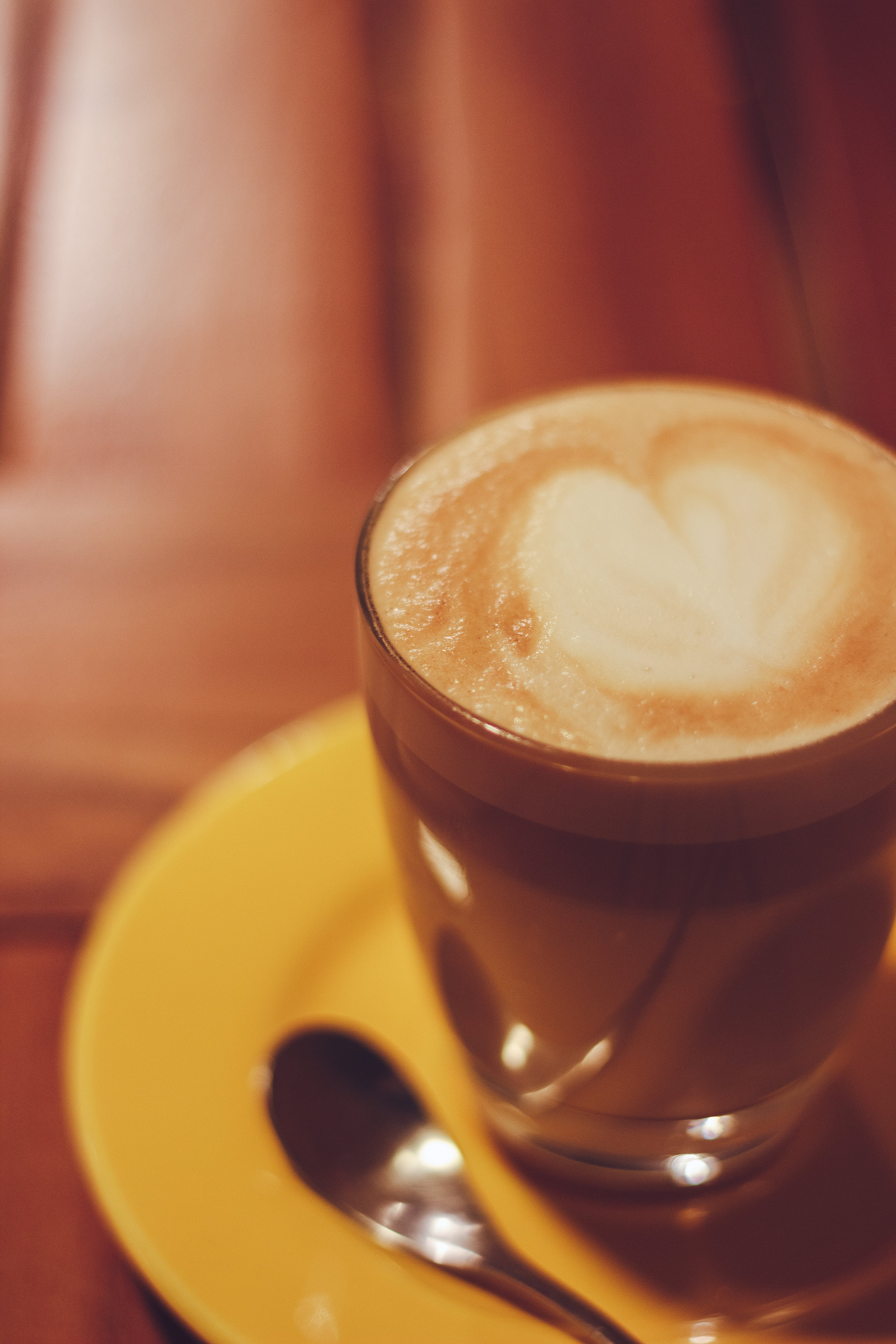 Free stock photo of heart, coffee, café, latte