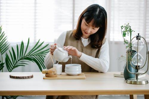 Free stock photo of bamboo, breakfast, coffee